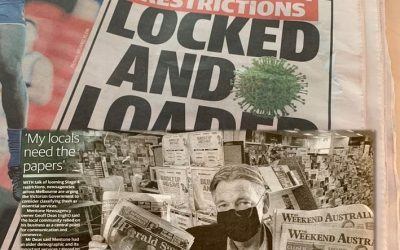 My locals need the papers- Mentone Newsagency