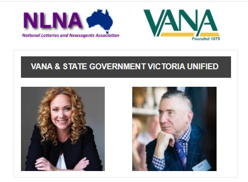 VANA & STATE GOVERNMENT VICTORIA UNIFIED