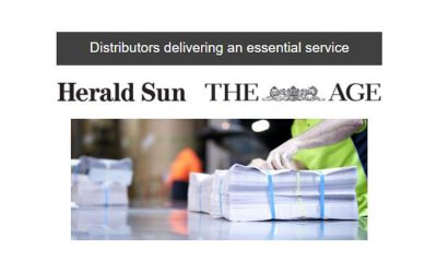 Distributors delivering an essential service