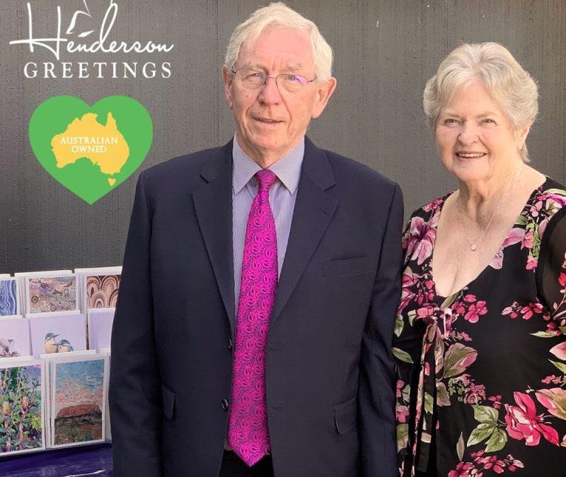 HENDERSON GREETINGS AUSTRALIAN MADE