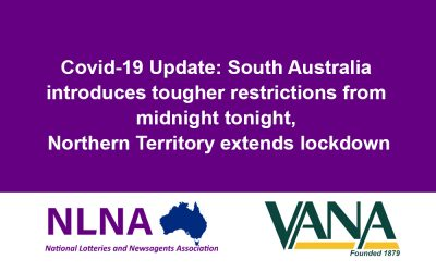Covid-19 Update: South Australia introduces tougher restrictions from midnight tonight, Northern Territory extends lockdown
