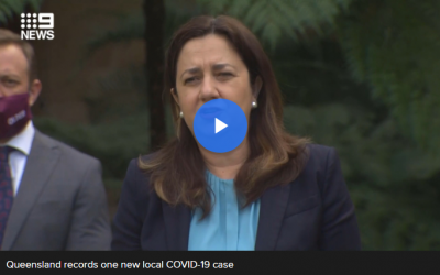 Queensland records one new local COVID-19 case as it declares Victoria a hotspot