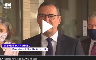 SA records new local COVID-19 case